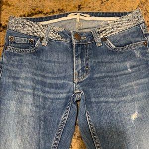 Maje Studded Waist Jeans!